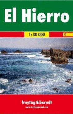 El Hierro, f&b Straßen- und Wanderkarte