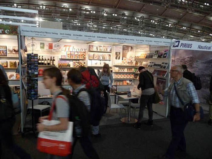 Feria internacional del libro Frankfurt