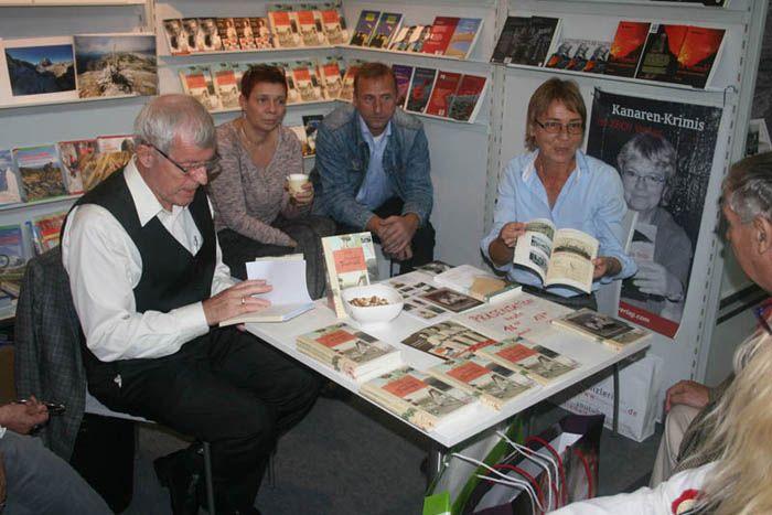 Editorial Zech presenta el Diario de Luise Schmidt en Francfort, Frankfurter Buchmesse 2014