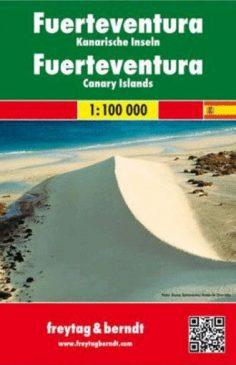 Fuerteventura, f&b Straßen- und Wanderkarte