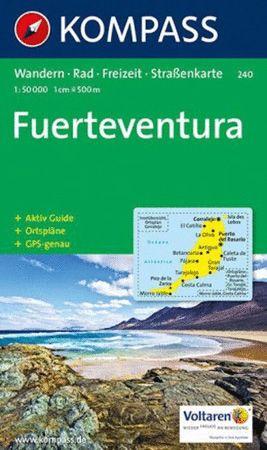 Fuerteventura, Kompass Wanderkarte