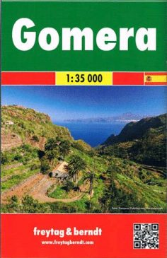 Gomera, f&b Straßen- und Wanderkarte