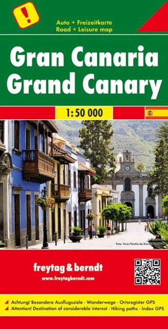Gran Canaria f&b Straßen- und Wanderkarte