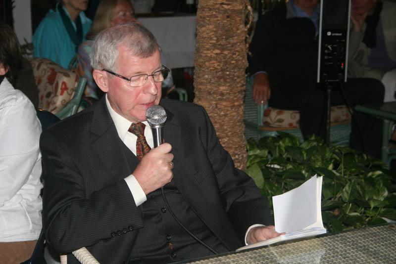 """Klaus Matzdorff presenta el libro """"Canarisches Tagebuch"""""""