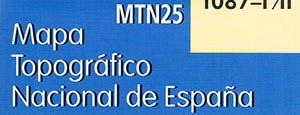 topografische karten ign - mapa topográfico MTN25|||topographische karte MTN25|