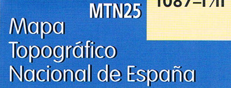 imagen del mapa topográfico MTN25