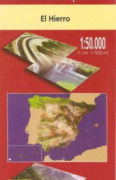 Mapa topográfico de El Hierro en 1 hoja