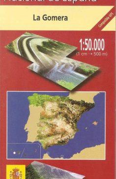 Topographische Karte · La Gomera 1:50.000