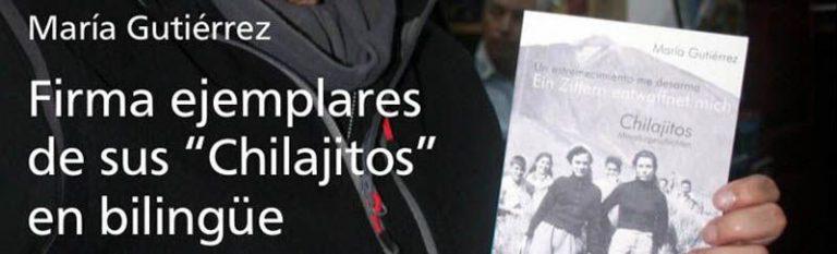 """María Gutiérrez firma ejemplares """"Chilajitos"""" en el Mundo del Mapa"""