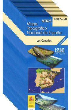 Topografische Karten Gran Canaria