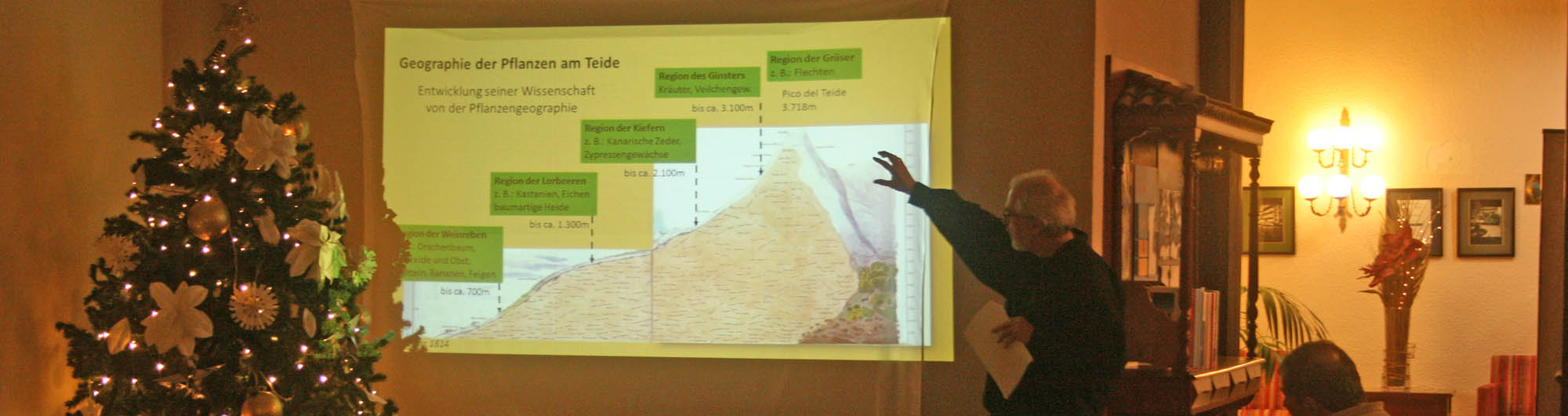 El camino de Humboldt al Teide: conferencia con Reinhold Mengel en el Hotel Marte, Puerto de la Cruz