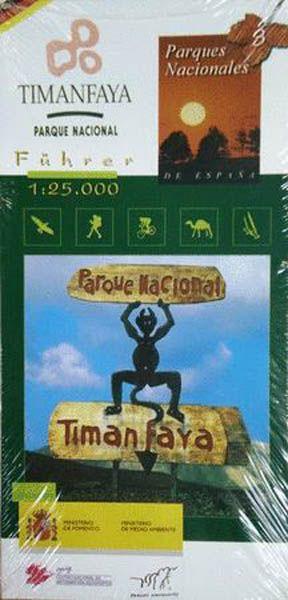 Timanfaya Nationalpark, Lanzarote, Wanderführer und topografische Karte 1:25000