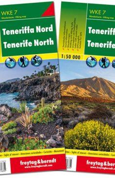 Tenerife Norte y Sur, 2 mapas de senderos WKE 7