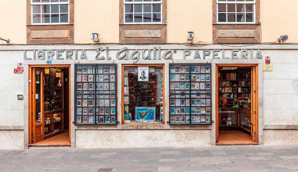 Librerías Tenerife, Librería El Águila, La Laguna