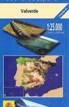 Mapa de El Hierro MTN25 a escala 1:25000