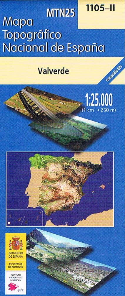Karte El Hierro MTN25 im Maßstab 1:25000