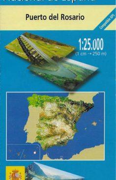 Mapa de Fuerteventura MTN25 a escala 1:25000