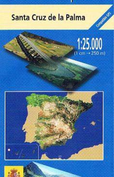 Mapa de La Palma MTN25 a escala 1:25000