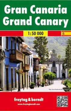 Gran Canaria mapa freytag